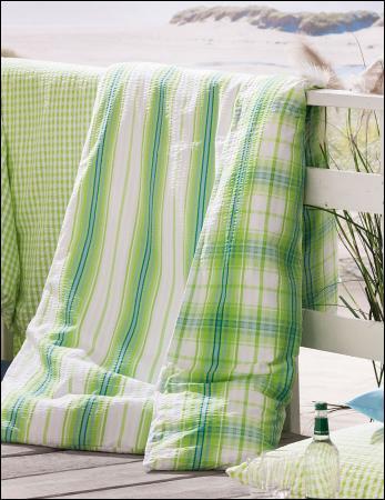 welt der fleuresse seersucker bettw sche rio 443501. Black Bedroom Furniture Sets. Home Design Ideas