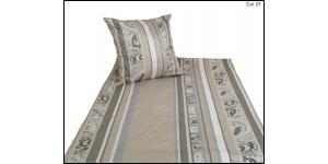 welt der angebote bettw sche kariert gestreift. Black Bedroom Furniture Sets. Home Design Ideas
