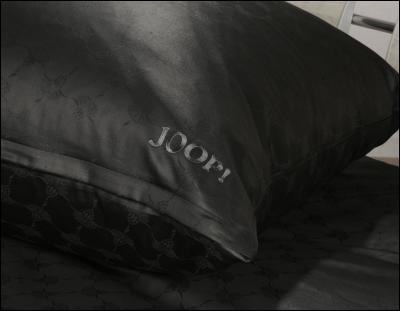 joop bettw sche cornflower 4020 schwarz 155x220cm ebay. Black Bedroom Furniture Sets. Home Design Ideas