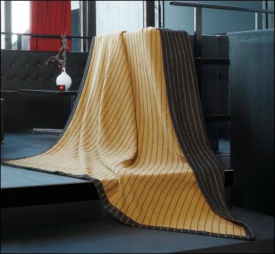 welt der bocasa wohndecke scala pinstripe. Black Bedroom Furniture Sets. Home Design Ideas