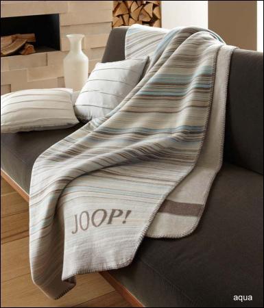 welt der joop wohndecke fine stripes. Black Bedroom Furniture Sets. Home Design Ideas
