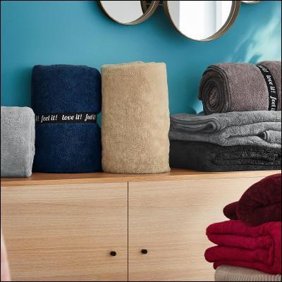 welt der s oliver microfaser decke wellsoft 3612. Black Bedroom Furniture Sets. Home Design Ideas