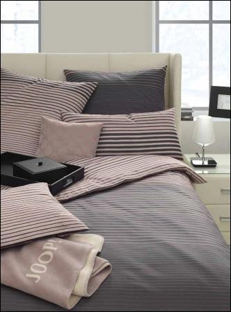 welt der joop bettw sche graded lines 4067. Black Bedroom Furniture Sets. Home Design Ideas
