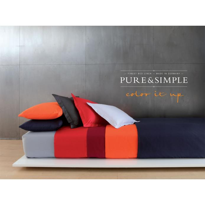 Yes for Bed Mako-Satin-Bettwäsche Pure and Simple uni (1100)