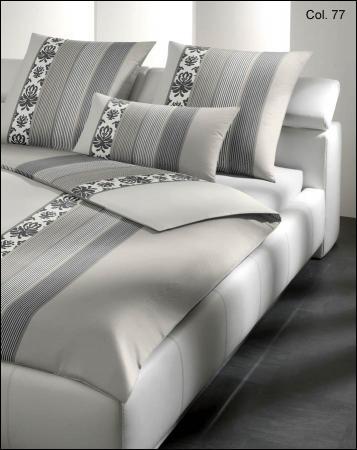 welt der joop bettw sche ornament stripe 4022. Black Bedroom Furniture Sets. Home Design Ideas
