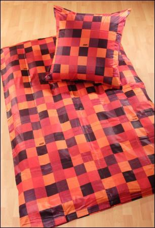 Welt Der Deckende Joop Bettwäsche Mosaik 4003 Rot Orange