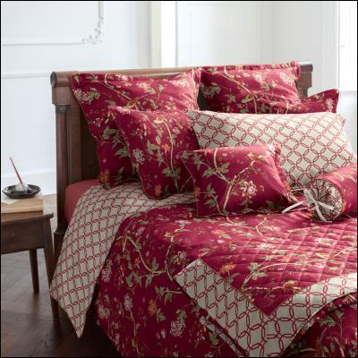 welt der laura ashley satin bettw sche summer palace v9. Black Bedroom Furniture Sets. Home Design Ideas